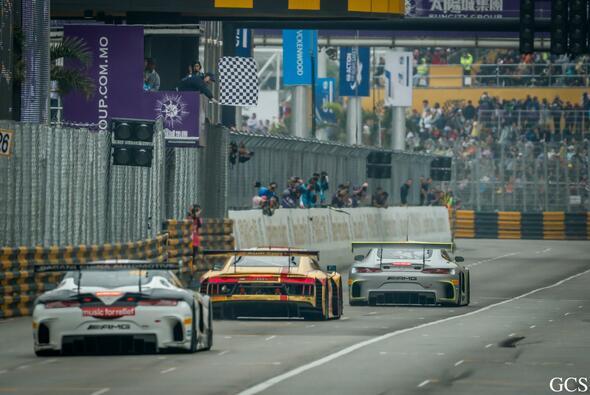 Edoardo Mortara gewann den GT-Weltcup in Macau 2017 - Foto: Macau Grand Prix