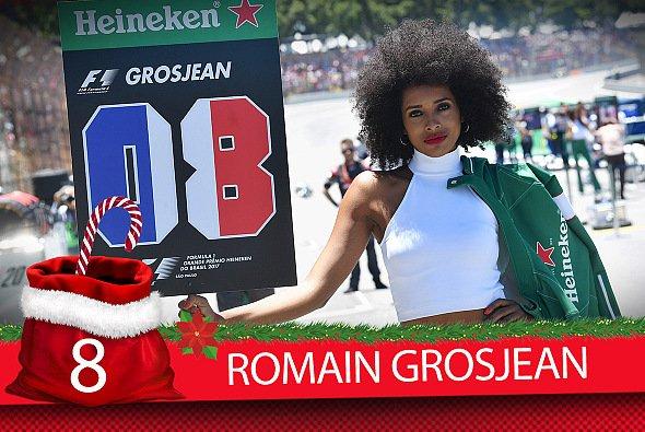 Romain Grosjean fiel 2017 vor allem mit Drehen und genervten Funksprüchen auf - Foto: Motorsport-magazin.com