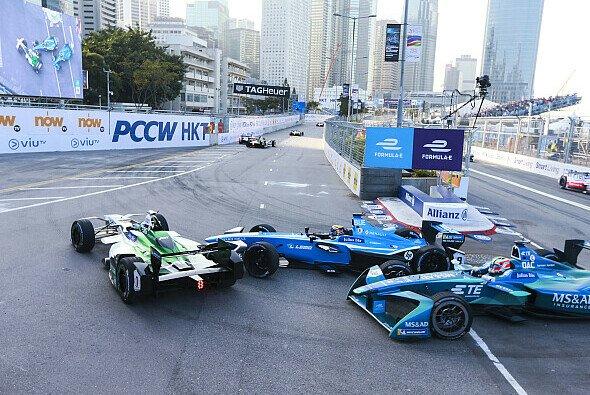 Treffen sich zwei Formel-E-Meister in Hongkong... - Foto: Audi