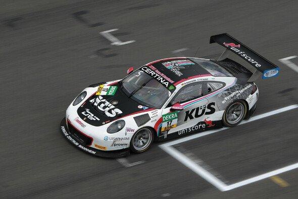 Das KÜS Team75 Bernhard setzt erneut auf den Porsche 911 GT3 R - Foto: ADAC GT Masters