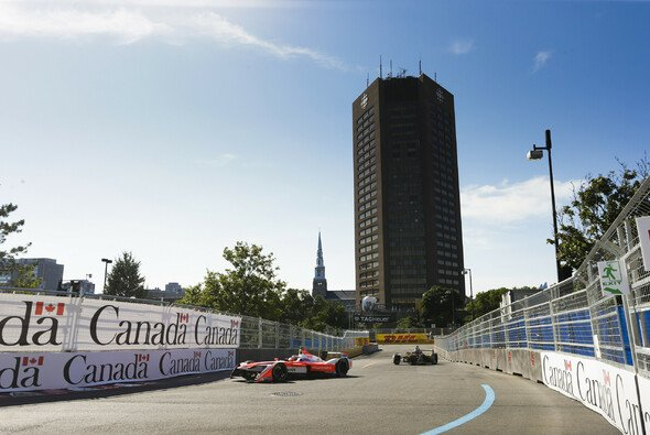 Die Formel E in Kanada: Rennszene aus dem einzigen Montreal e-Prix. - Foto: LAT Images
