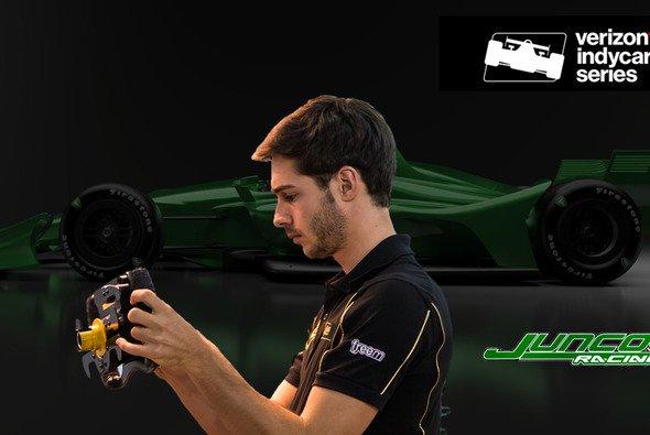 Endlich wieder ein Österreicher bei den IndyCars: Rene Binder - Foto: INDYCAR
