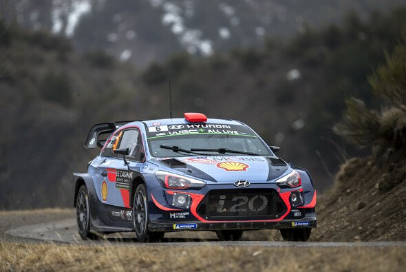 In der WRC liegt Hyundai momentan ganz vorne. - Foto: Hyundai