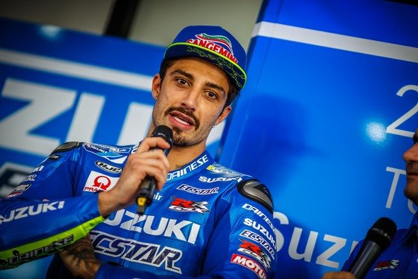 Andrea Iannone ging am Sonntag einmal zu Boden - Foto: gp-photo.de/Ronny Lekl