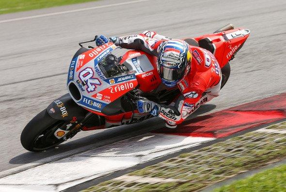 Dovizioso legte in Sepang einen Auftakt nach Maß hin - Foto: Ducati