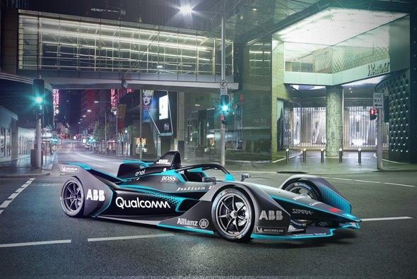 So sieht das neue Generation-2-Rennauto der Formel E aus - Foto: FIA Formula E