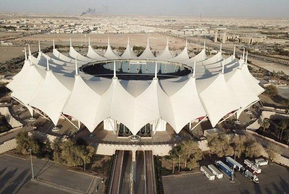 Imposanter Schauplatz für das Race of Champions 2018: King Fahd International Stadium in Riad - Foto: Race of Champions
