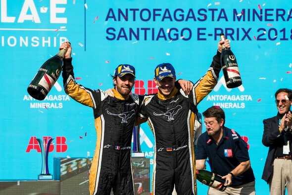 Erfolgs-Duo: Jean-Eric Vergne und Andre Lotterer - Foto: LAT Images