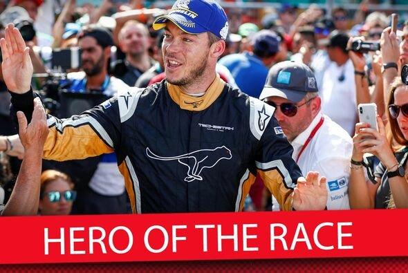 Unser Held des Santiago ePrix in Chile: Andre Lotterer und seine Eier - Foto: Motorsport-Magazin.com