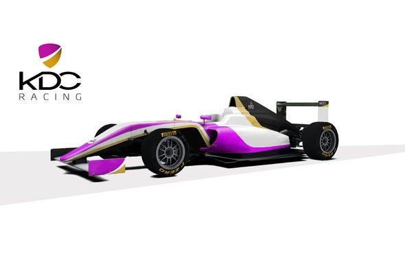 So könnte das Formel-4-Rennauto von Kaltenborns Team KDC Racing aussehen - Foto: KDC Racing