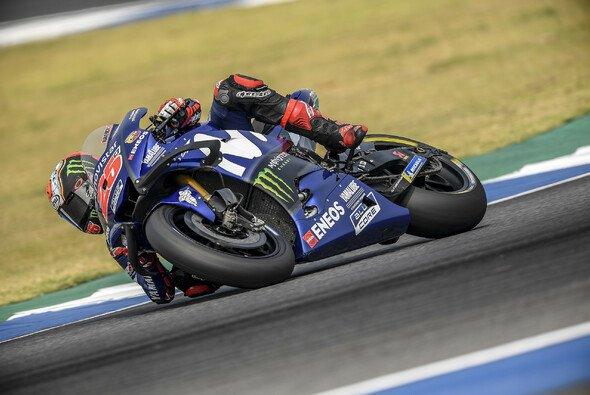 Vinales setzte sich in FP1 vor Rossi durch - Foto: Yamaha