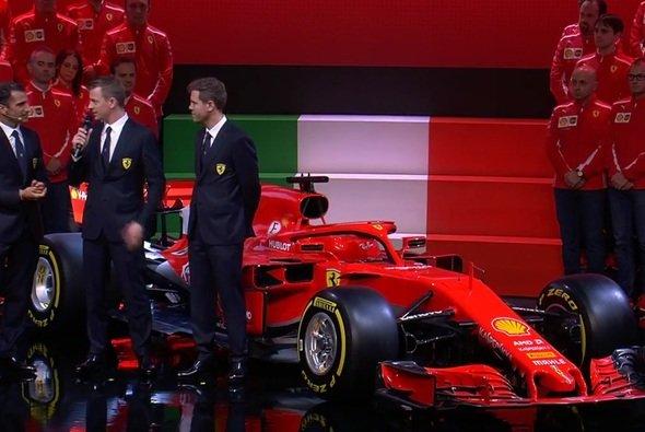 Der neue Ferrari SF70H ist komplett in Rot gehalten - Foto: Ferrari