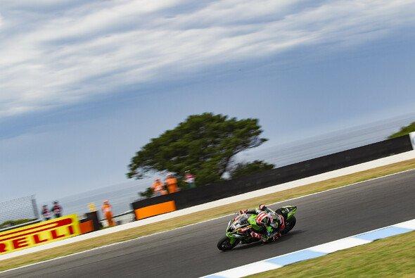 Jonathan Rea landete am Freitag auf Phillip Island nur auf Platz fünf - Foto: Kawasaki
