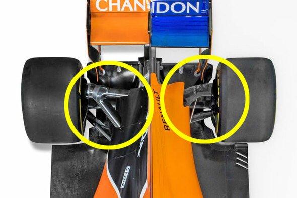 McLaren zeigt beim MCL33 eine radikal neue Hinterachse - Foto: McLaren