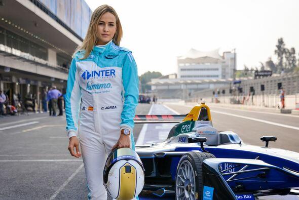 Carmen Jorda fuhr in Mexiko das Demo-Auto der Formel E - Foto: Formula E