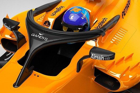 McLaren sichert sich als erstes F1-Team ein Sponsoring für den Halo - mit Witz - Foto: McLaren