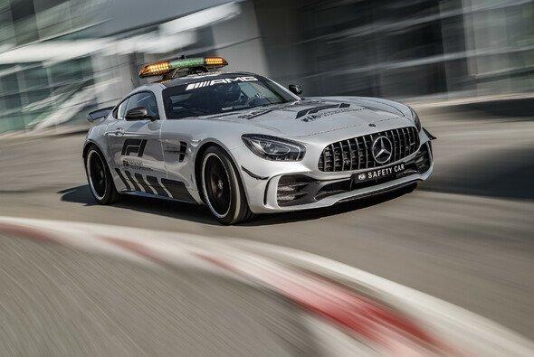 585 PS leistet das Formel-1-Safety-Car 2018 - mehr denn je - Foto: Mercedes-AMG