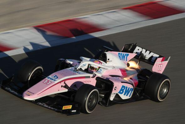 Maximilian Günther war beim F2-Test in Bahrain Schnellster - Foto: Formel 2