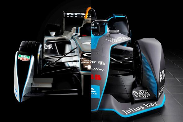 Das GEN2-Auto löst den Vorgänger nach vier Jahren in der Formel E ab - Foto: Motorsport-Magazin.com/Collage
