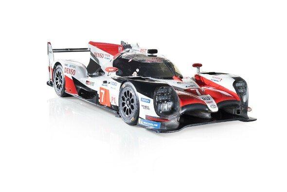 So sieht der TS050 Hybrid von Toyota für die WEC und Le Mans aus - Foto: Toyota