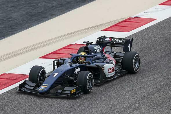 Artem Markelov sicherte sich am Sonntag den Sieg der Formel 2 - Foto: Formula 2