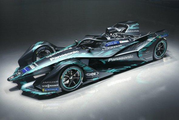 So sieht der neue I-Type 3 von Jaguar für die Formel E aus - Foto: Jaguar