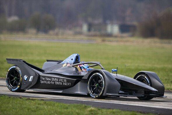 BMW testet das neue Generation-2-Rennauto für die Formel E - Foto: BMW