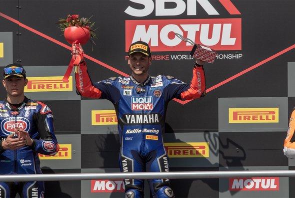 Sandro Cortese gewinnt sein erstes Rennen in der Supersport-WM - Foto: Kallio Racing