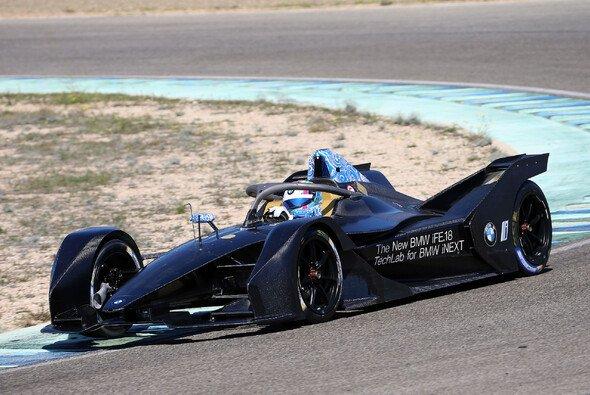 Bruno Spengler saß beim Formel-E-Test in Calafat für BMW am Steuer - Foto: BMW Motorsport