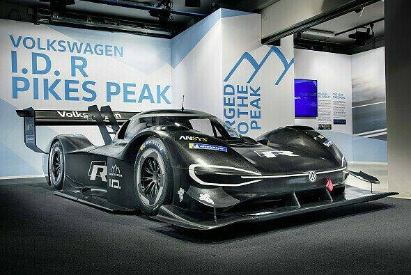 Mit dem I.D. R will sich VW den Elektro-Rekord in Pikes Peak holen - Foto: VW