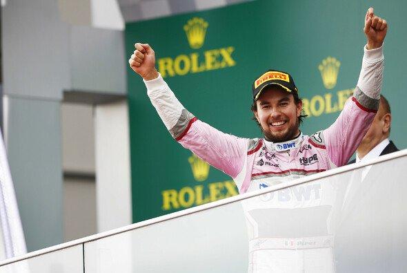 Sergio Perez fährt auch in der Formel-1-Saison 2019 für Force India - Foto: LAT Images