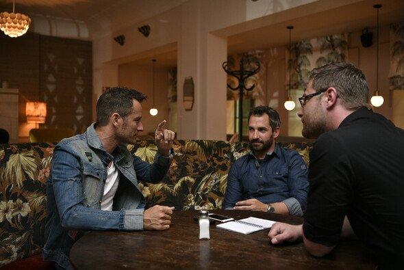 Scheider und Glock im Doppel-Interview - Foto: Sat.1