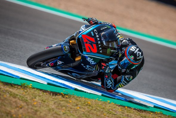 Francesco Bagnaia steht in Le Mans auf der Moto2-Pole - Foto: gp-photo.de/Ronny Lekl