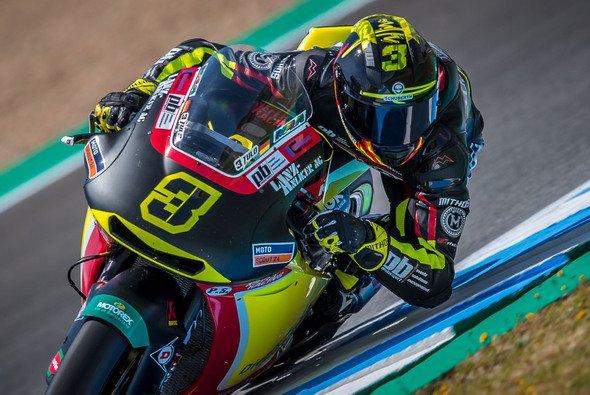 Lukas Tulovic ist 2019 in der Moto2 dabei - Foto: gp-photo.de/Ronny Lekl