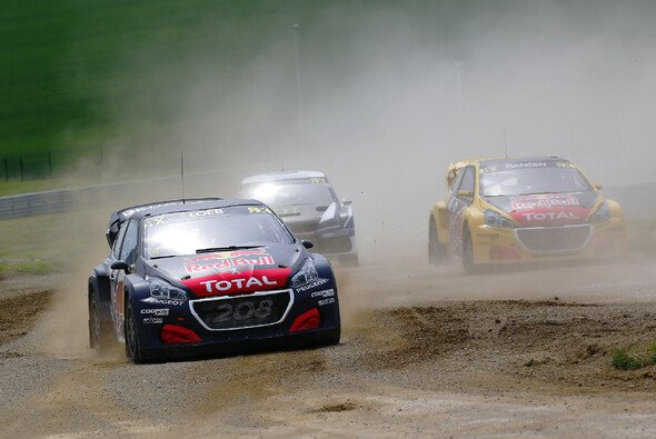 Sebastien Loeb konnte WRX-Champion Kristoffersson als einziger in dieser Saison bezwingen - Foto: WorldRX