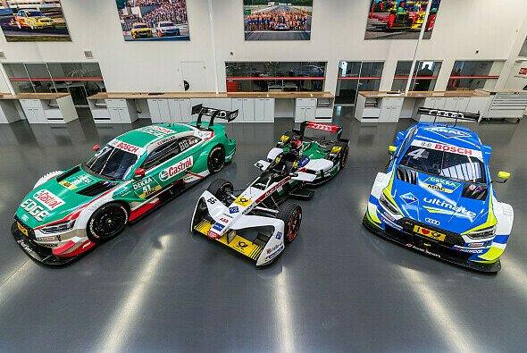 Aus dem DTM- ins Formel-E-Auto (hier das alte Gen1): Stressige Wochen bei Audi - Foto: Audi Communications Motorsport