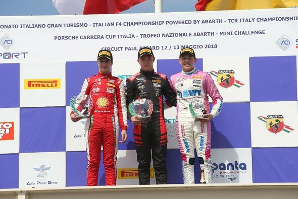 Die italienische Formel 4 gastierte für ein Rennwochenende in Frankreich - Foto: ACI SPORT S.p.A.