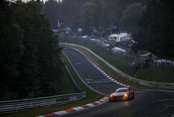 Dominik Baumann pilotierte den Mercedes-AMG GT3 #47 - Foto: Gruppe C Photography