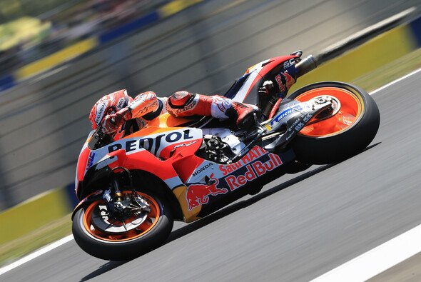 Marc Marquez war im ersten Freien Training in Le Mans Schnellster - Foto: LAT Images