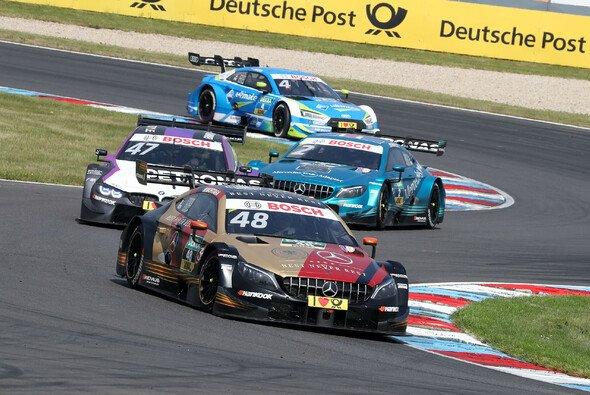 Mercedes-Pilot Edoardo Mortara gewann das Samstagsrennen der DTM in der Lausitz - Foto: DTM