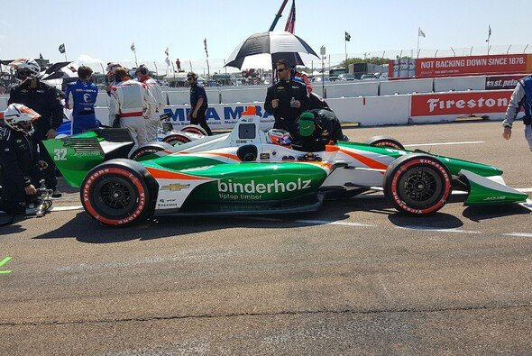 Rene Binder startet in Detroit für Juncos Racing - Foto: Juncos