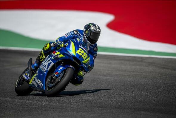 Andrea Iannone war der schnellste Pilot im Mugello-Warm-Up - Foto: Suzuki
