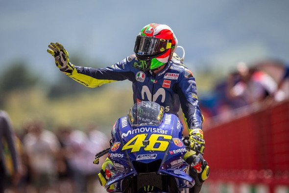 Valentino Rossi fuhr in Mugello aufs Podium - Foto: gp-photo.de/Ronny Lekl