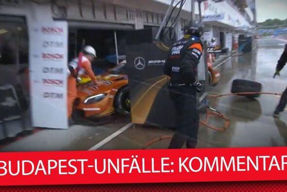 Ein Kommentar zum Boxengassen-Chaos in Budapest - Foto: Motorsport-Magazin.com/Collage