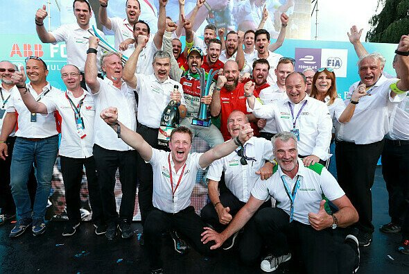 Di Grassi gewinnt das Debüt in Zürich - Foto: Audi Communications Motorsport