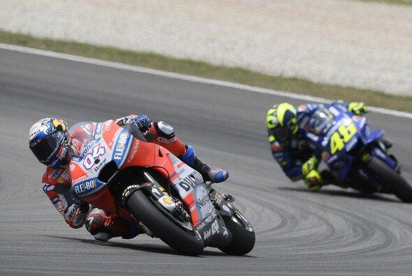 Dovizioso und Rossi gerieten in Assen aneinander - Foto: Ducati