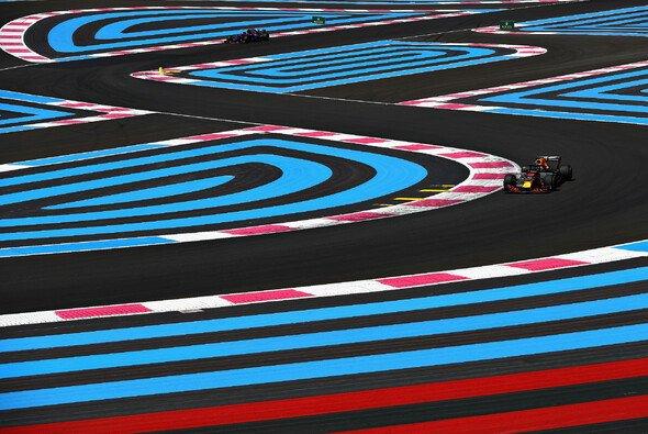Verwirrung pur: In Le Castellet sorgen Farben und andere Streckenführugen für Konfusion - Foto: Red Bull