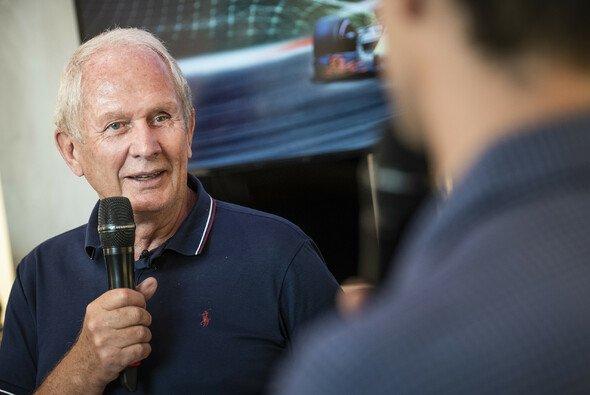 Dr. Helmut Marko, ein gern gesehener Interview-Gast aus der Formel-1-Welt - Foto: Red Bull