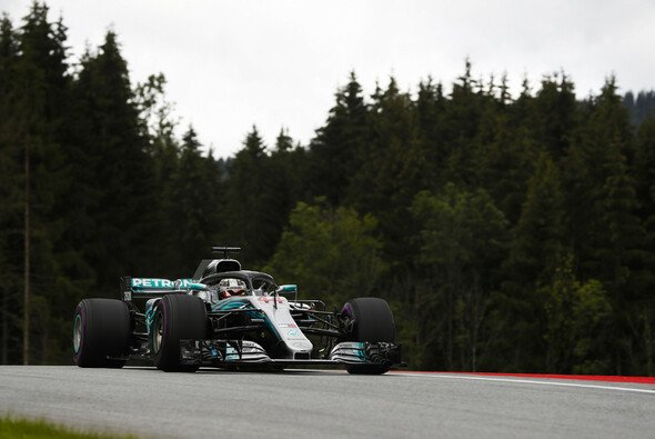 Hamilton und Mercedes holen sich Bestzeit bei den Trainings der Formel 1 in Österreich - Foto: LAT Images