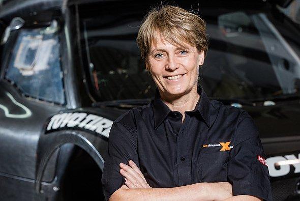ADAC Rallye Deutschland Markenbotschafterin Jutta Kleinschmidt unterstützt den deutschen WM-Lauf - Foto: ADAC Rallye Deutschland